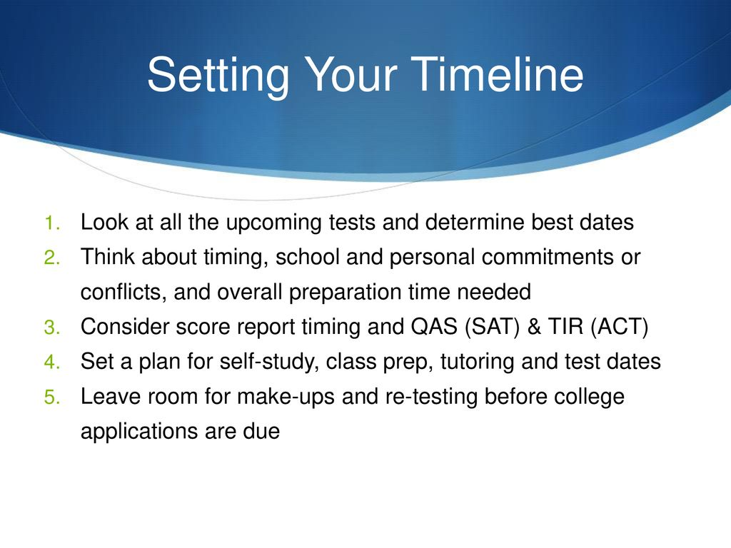 SAT & ACT: A Method for Success Essential Information for