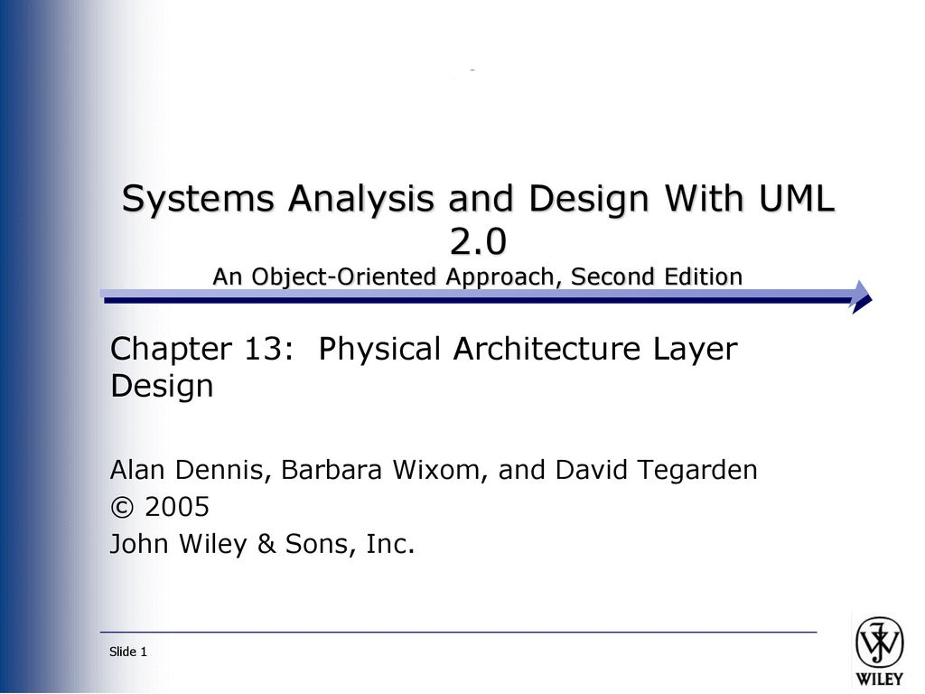Systems Analysis And Design With Uml 2 Ppt Download