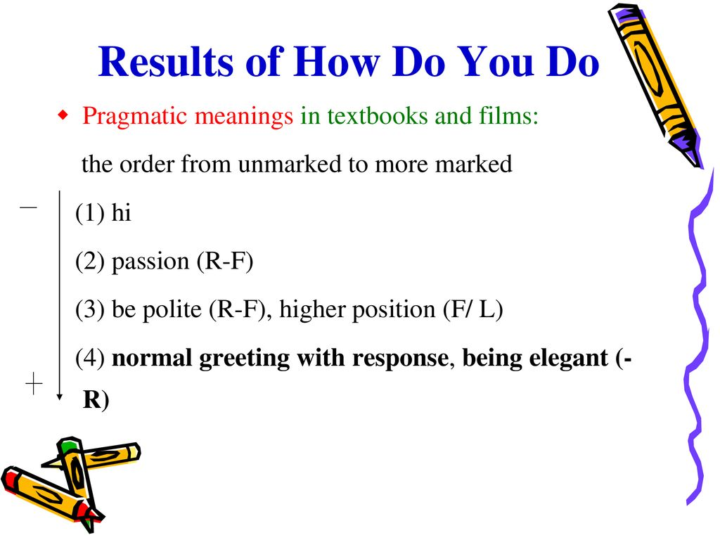 Research Methods Rq1 Do Greeting Expressions Mean Differently In