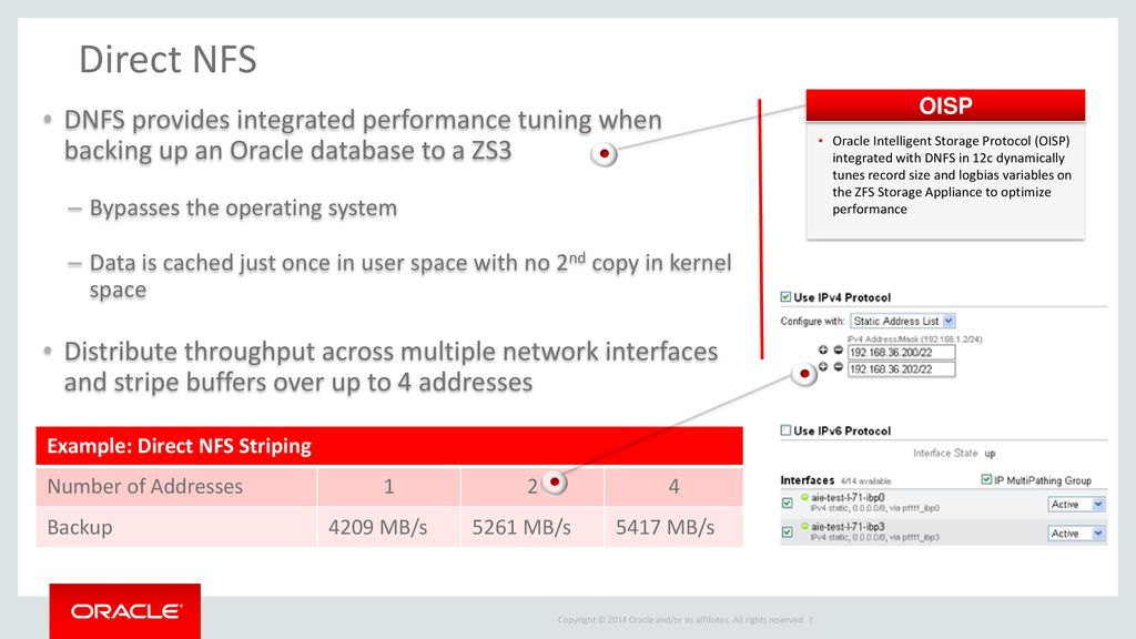 Oracle ZFS Storage Protecting Exadata Databases - ppt download