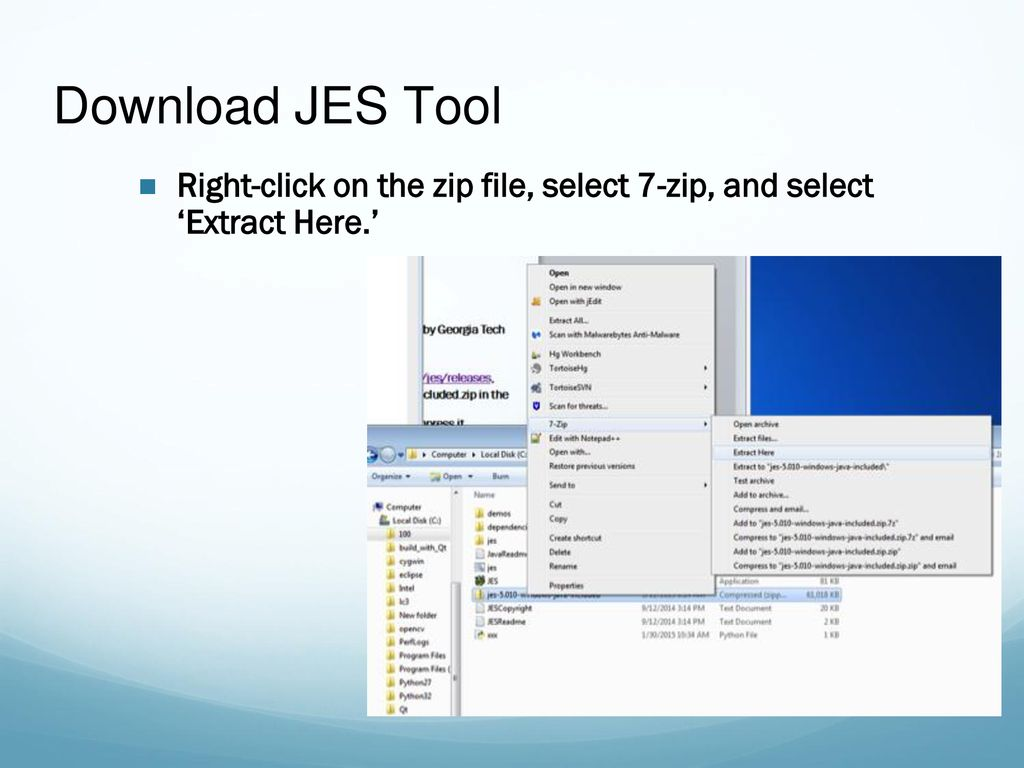 Download JES Tool JES: Jython Environment for Students - ppt