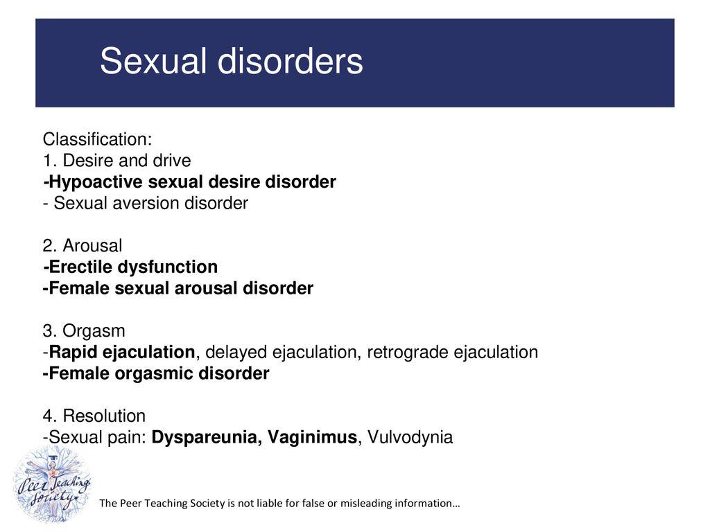 Sexual aversion