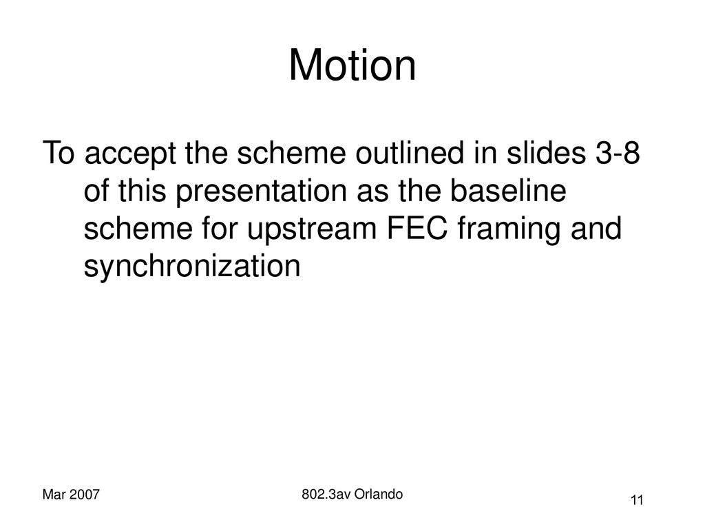 10GEPON FEC Framing Adhoc Technical Status Jeff Mandin ppt download