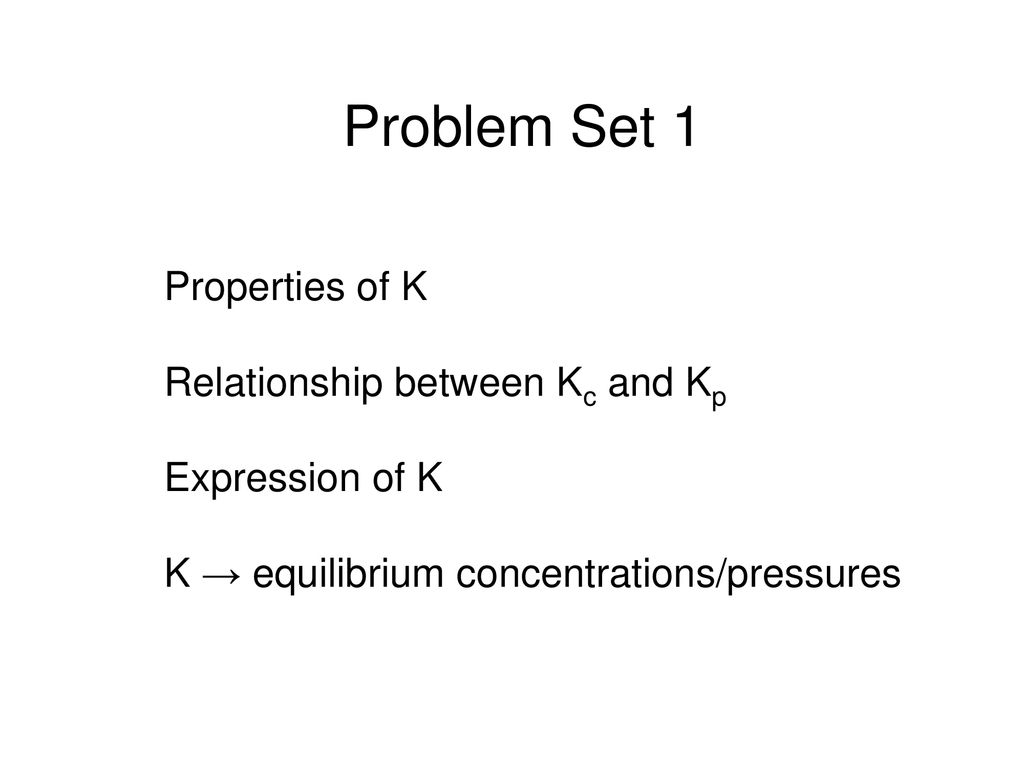 Chapter 15 Chemical Equilibrium  - ppt download