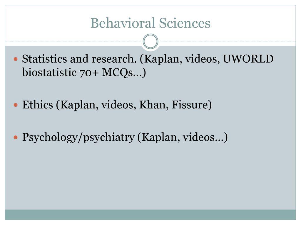 behavioral science mcqs