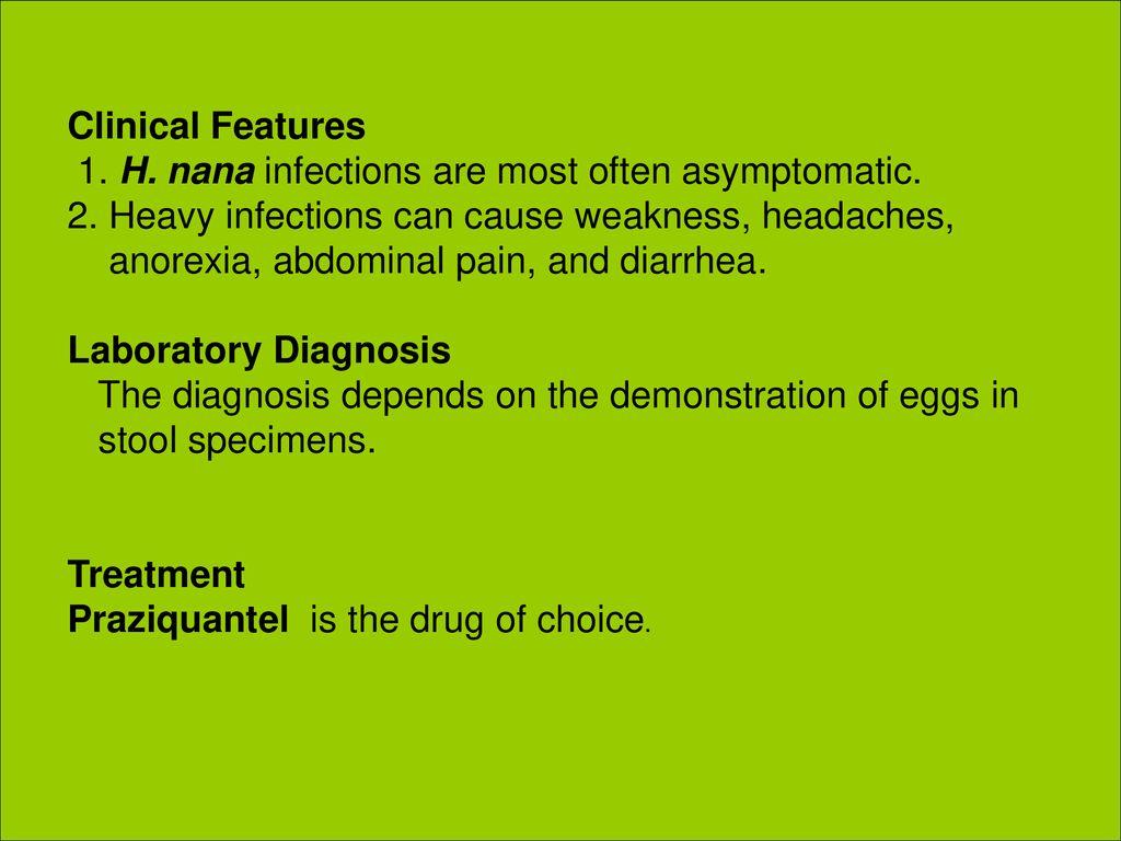 diphyllobothriasis diagnózis