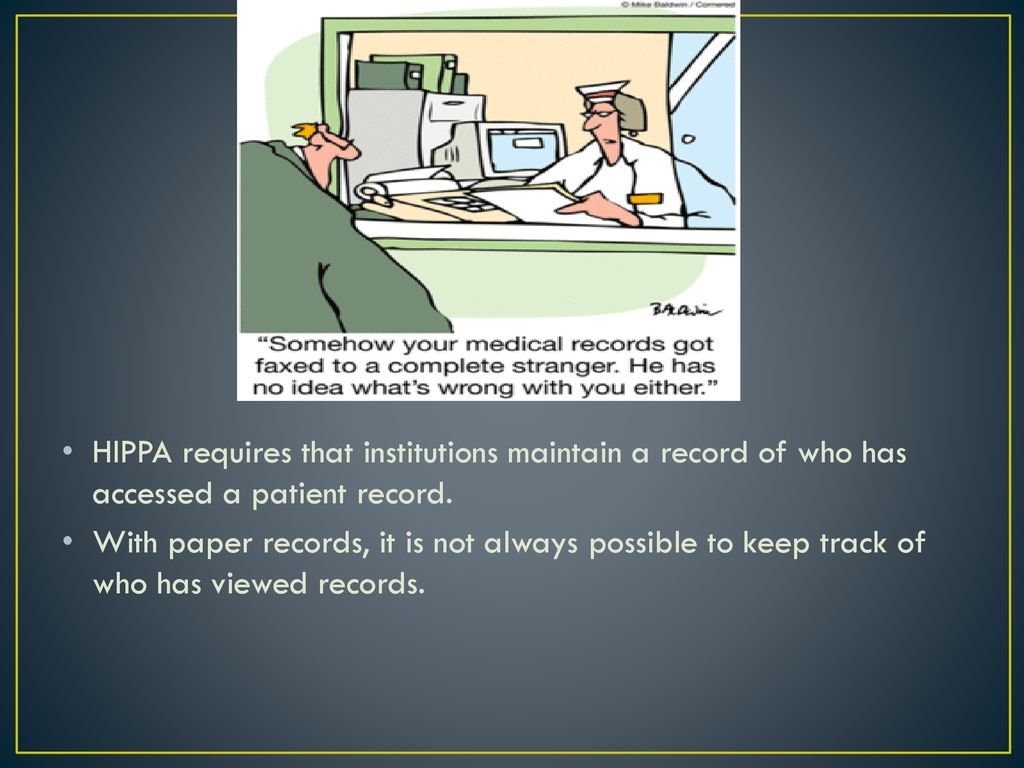 privacy concerns of electronic medical records ppt download