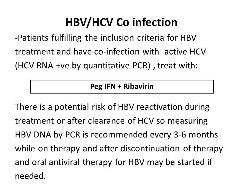 HBV/HCV Co infection