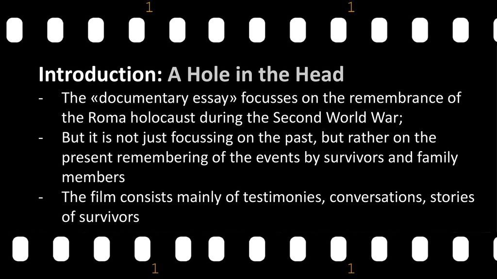 A Hole In The Head Robert Kirchhoff 2016 Slovakia Ppt Download