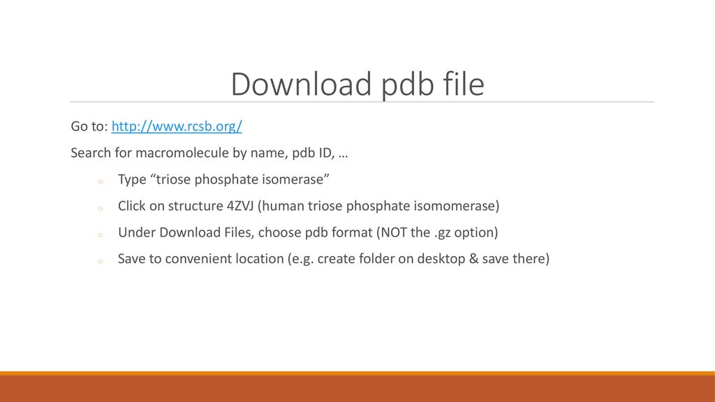 Visualization with VMD - ppt download