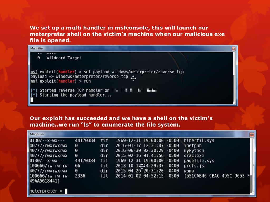 Metasploit Project For this exploit I will be using the