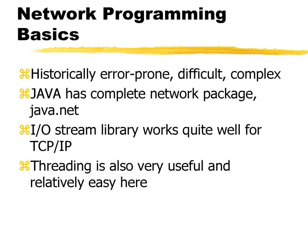 Network Programming Introduction - ppt download