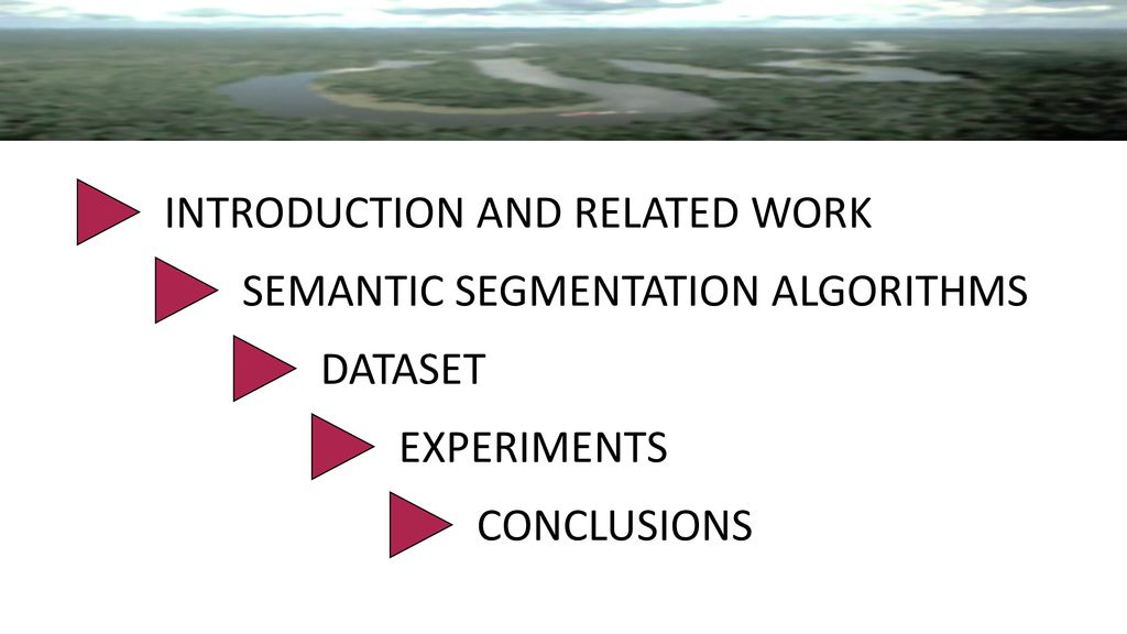 RIVER SEGMENTATION FOR FLOOD MONITORING - ppt download