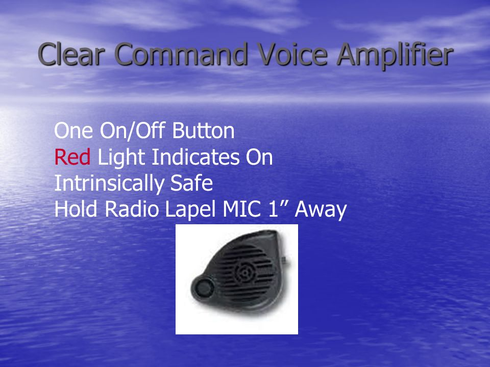 Clear Command Voice Amplifier