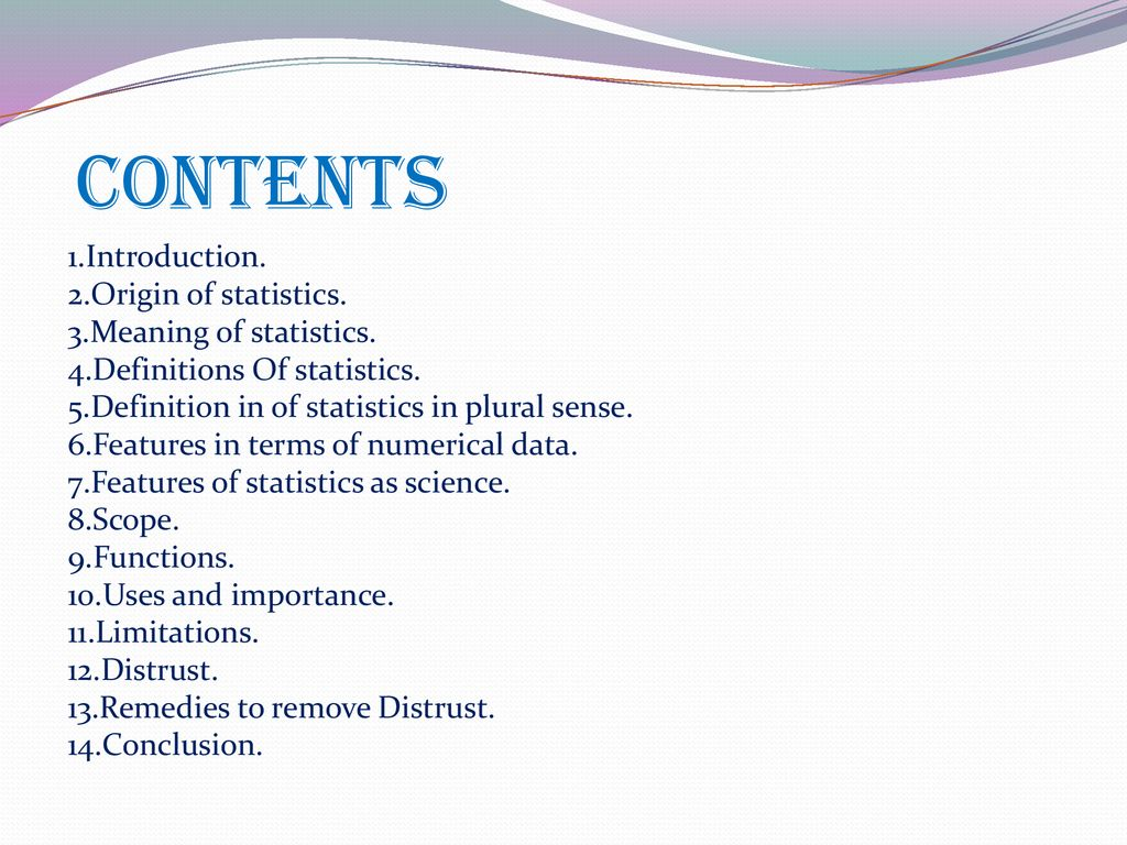 Introduction to Statistics - ppt download