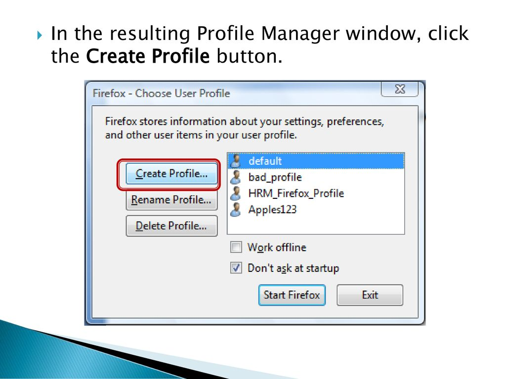 What is a Profile and Why Do I Need One? - ppt download