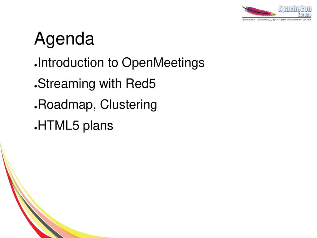 Web-Conferencing with Apache OpenMeetings - ppt download