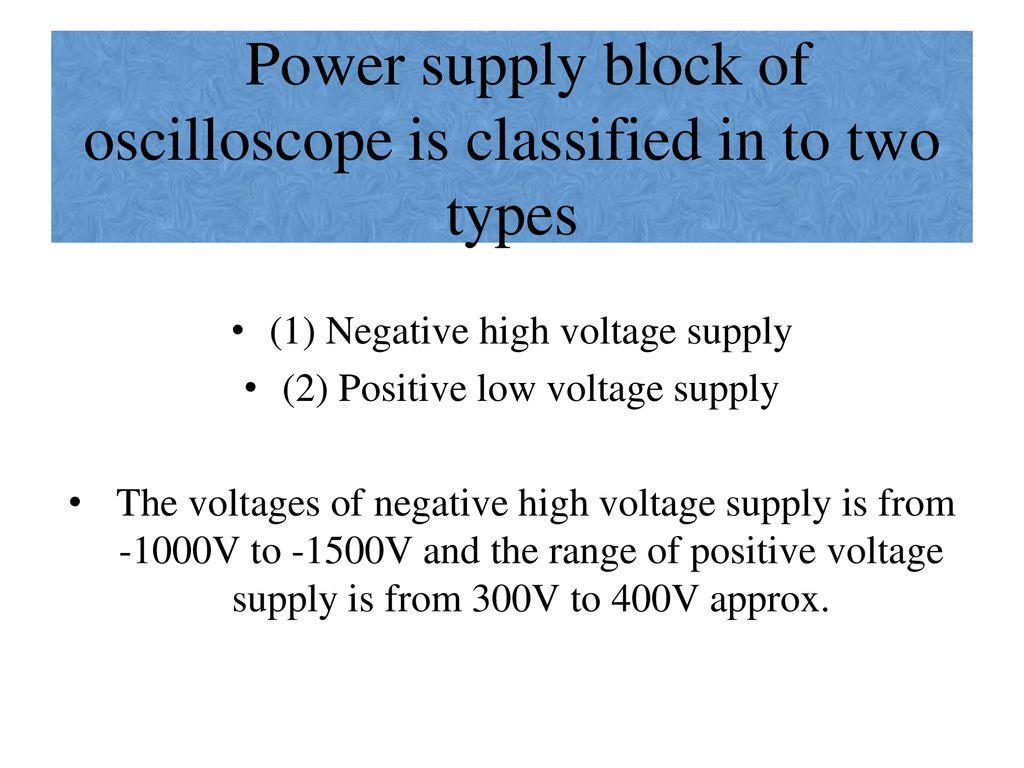 INTRODUCTION PRESENTATION: OSCILLOSCOPE   - ppt download