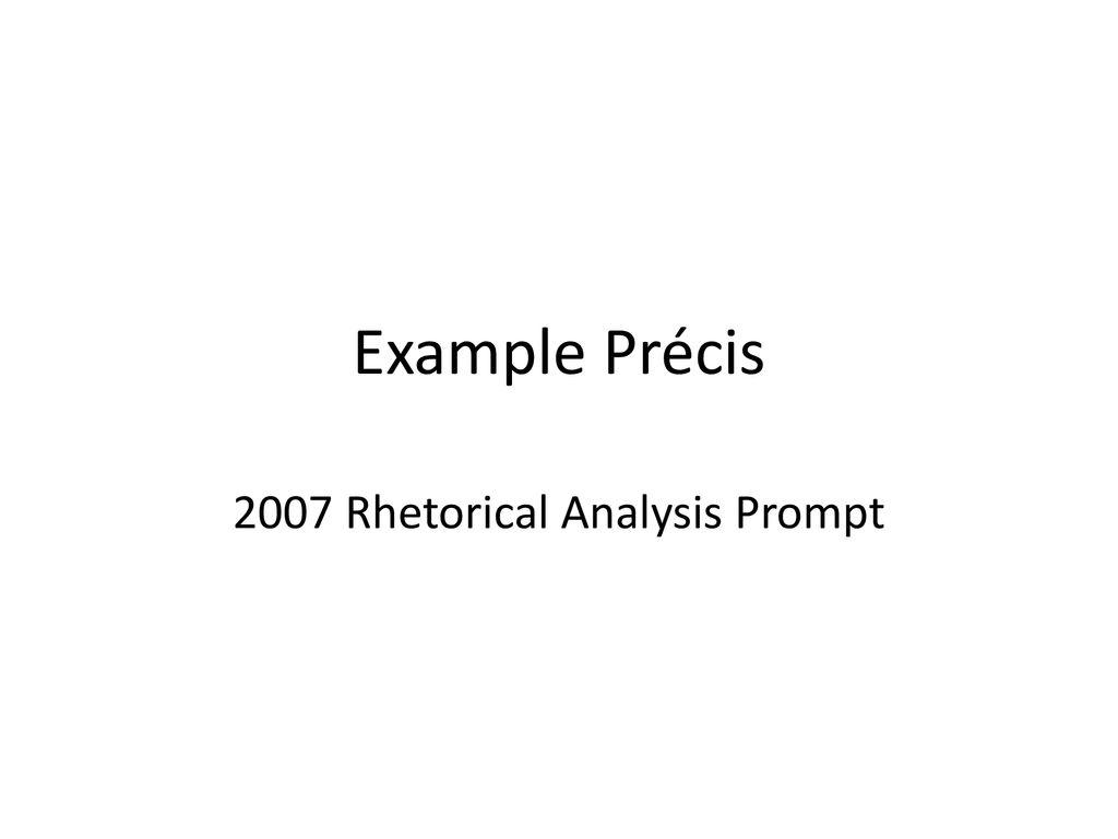 rhetorical analysis prompt example
