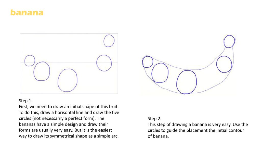 How To Draw Your Own Fruit Bowl Ppt Download