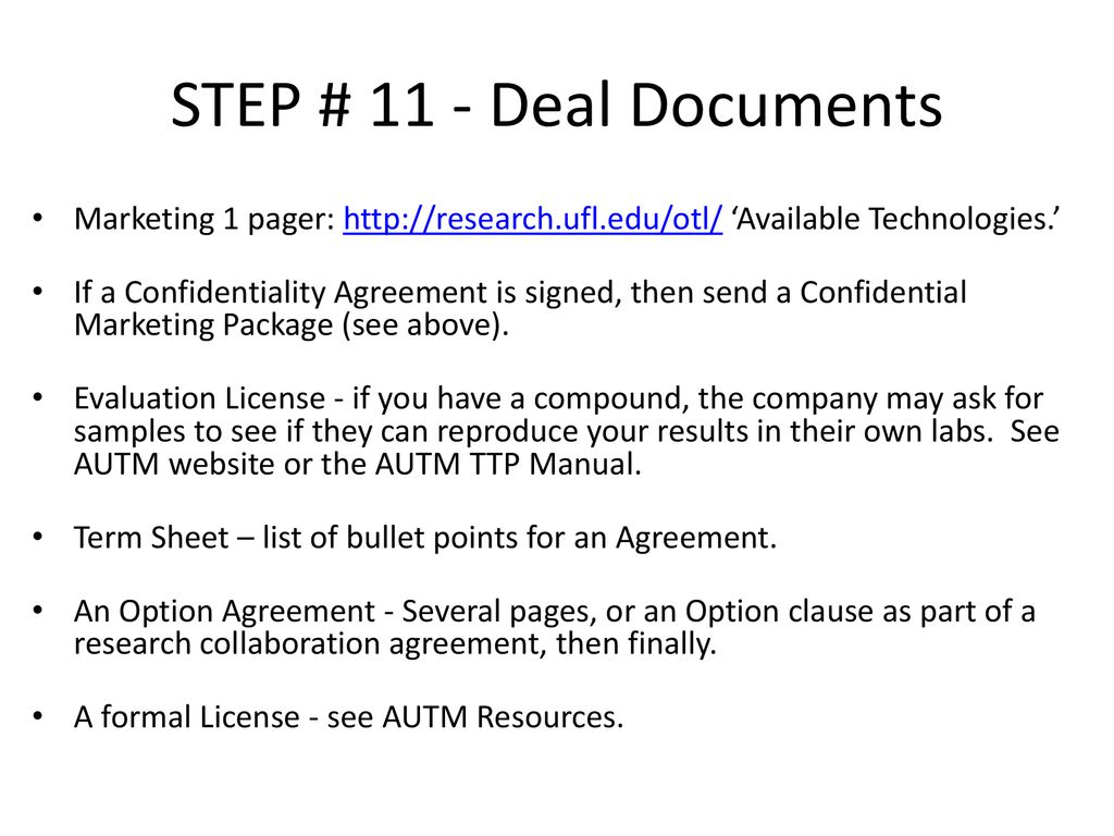 Topic 10 Pre Licensing Activities Ppt Download