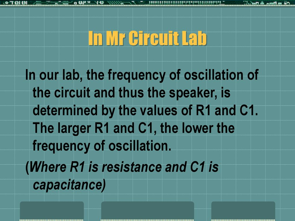 Transistor Oscillators Ppt Download Circuitlab Op Amp Mixer In Mr Circuit Lab