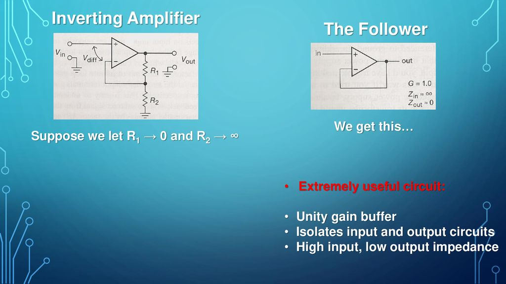 Operational Amplifiers I - ppt download