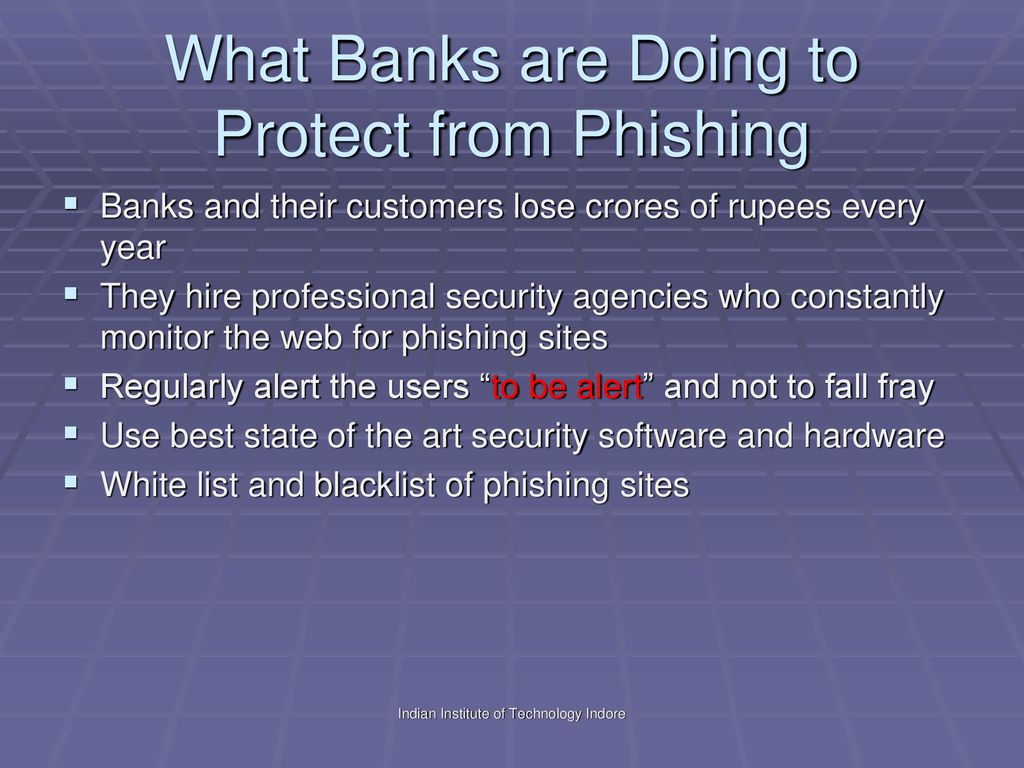 Phishing Attacks Dr  Neminath Hubballi  - ppt download