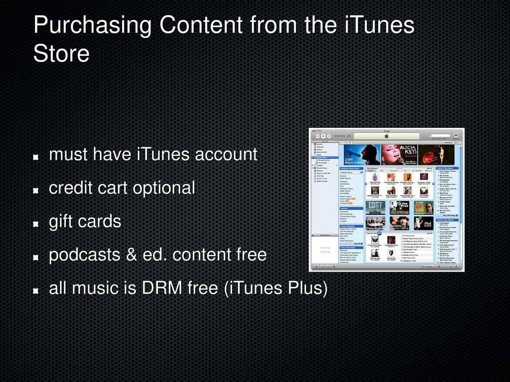 Using iTunes in the Classroom - ppt download