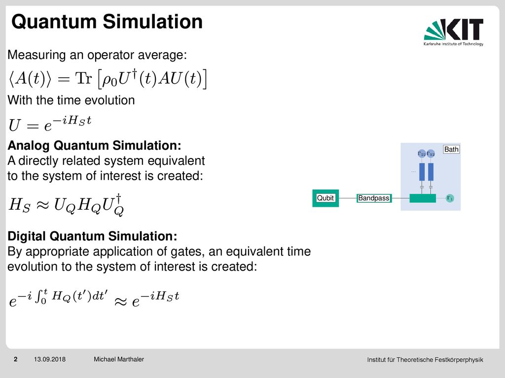 Estimating the error of a quantum simulator by additional