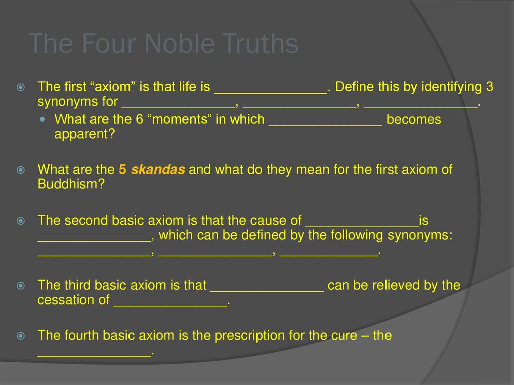 discussion questions buddhism. - ppt download