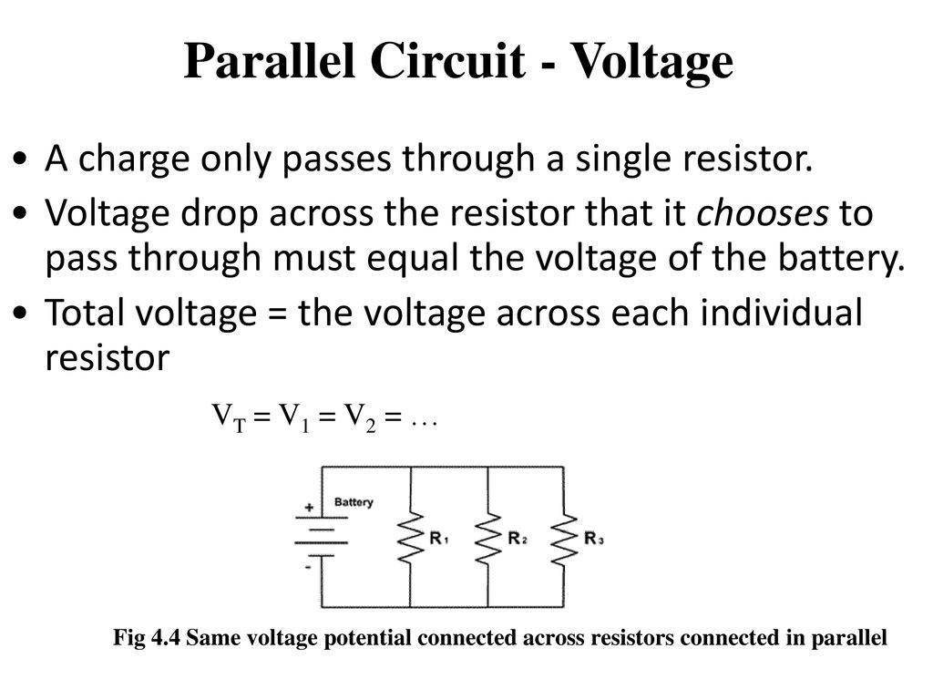 Use Of Ict In Education For Online And Blended Learning Iit Bombay Voltage Drop A Parallel Circuit