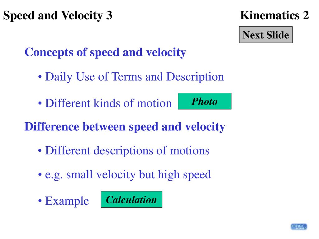 What is kinematics Definition and concept 100