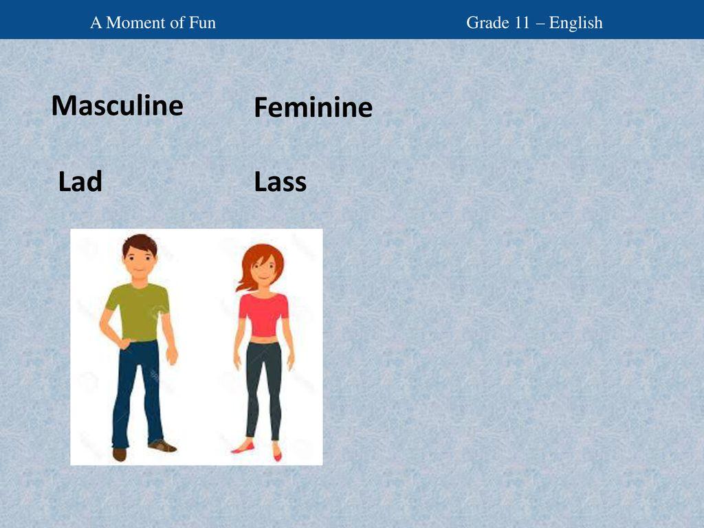 Feminine gender list