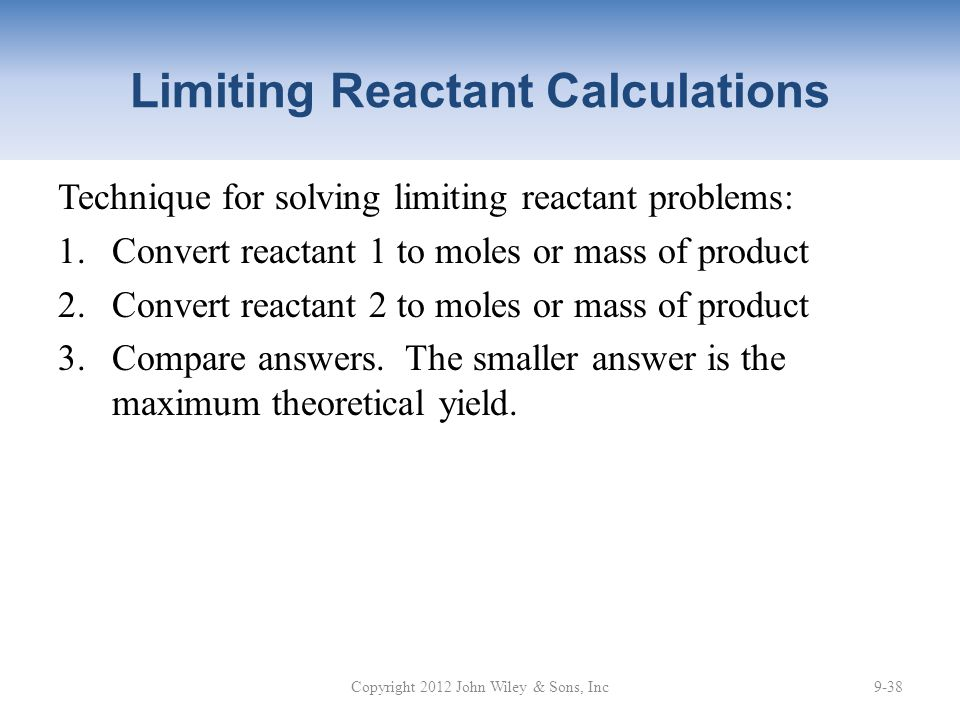 limiting reactant problems and answers pdf