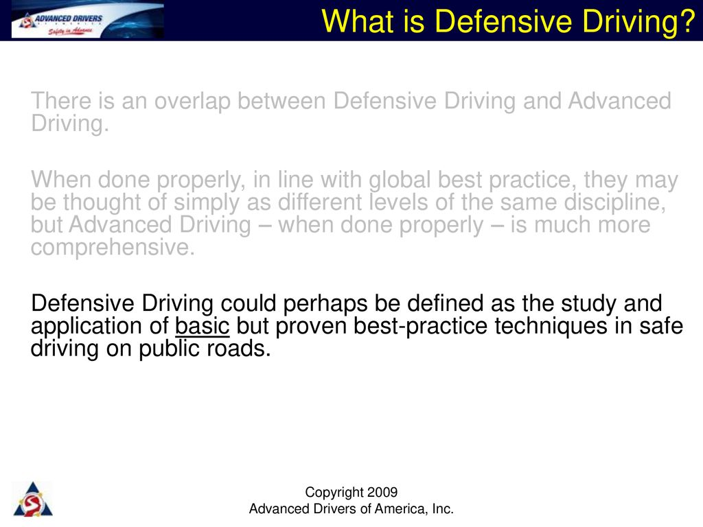 a balanced overview of driver training - ppt download