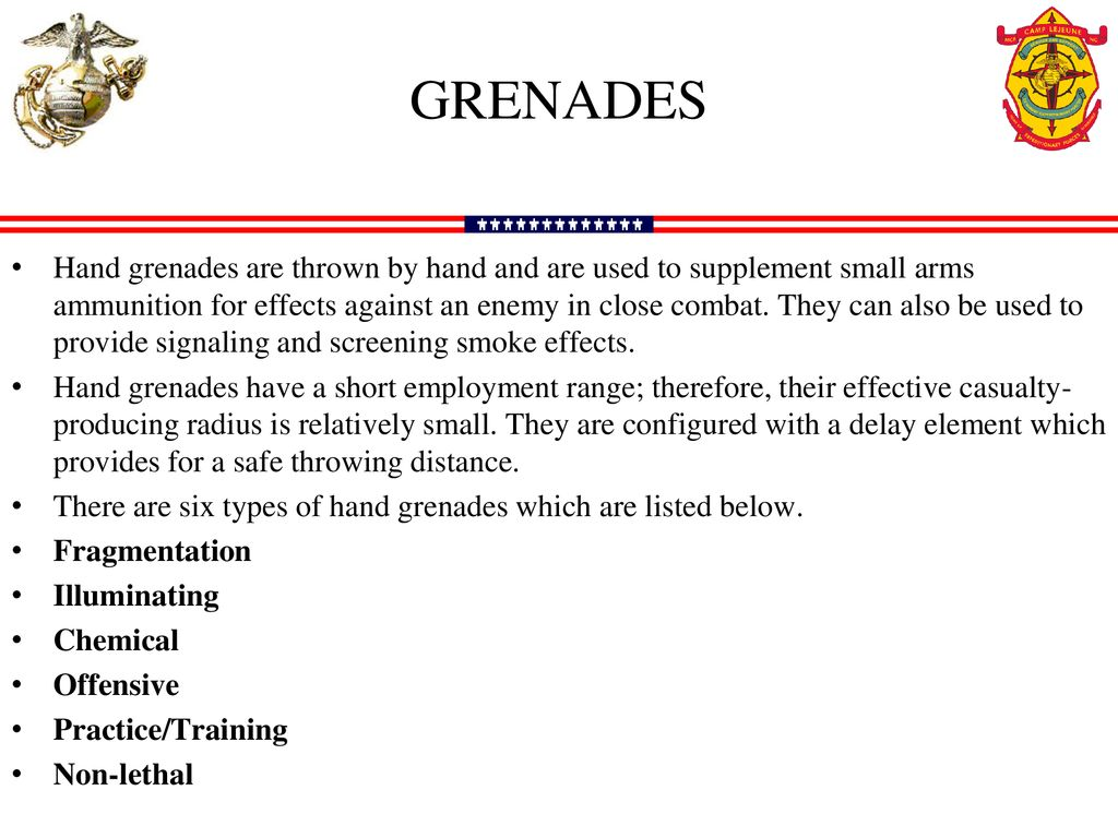 GRENADES  - ppt download
