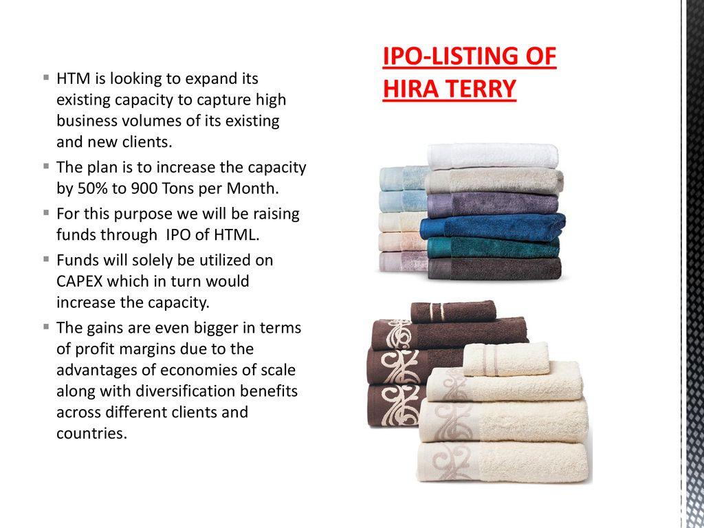 HIRA TERRY MILLS LTD MANUFACTURER OF PREMIUM QUALITY TERRY