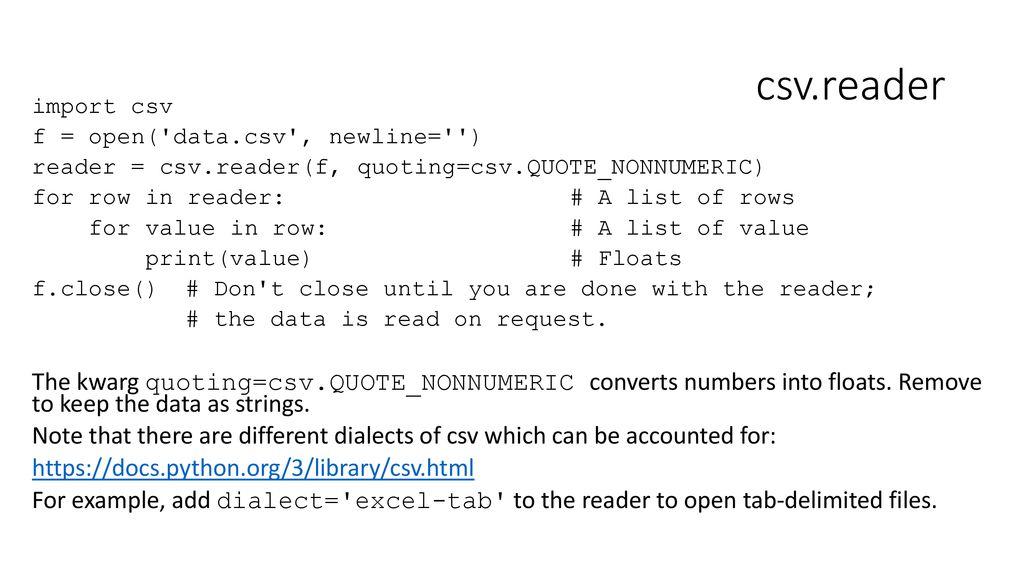 The Csv get Dialect Python Example {Forumaden}