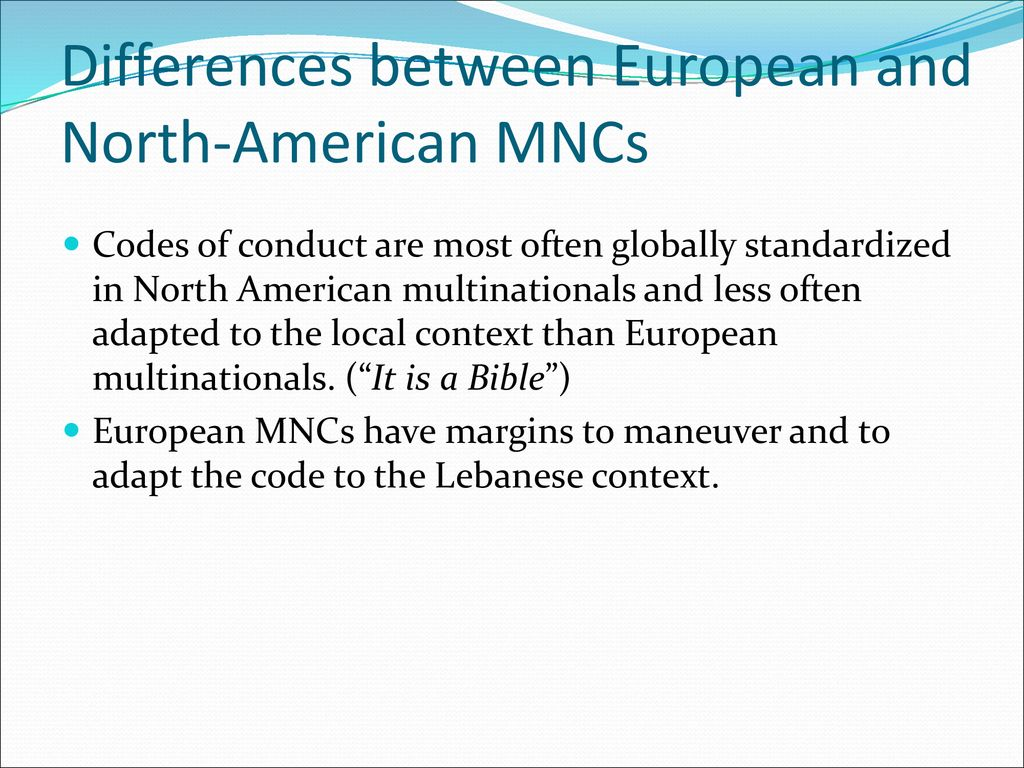 Academy of Management Internal Knowledge Transfer and MNCs: The