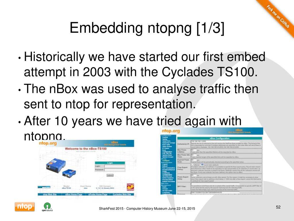 Ntop Features