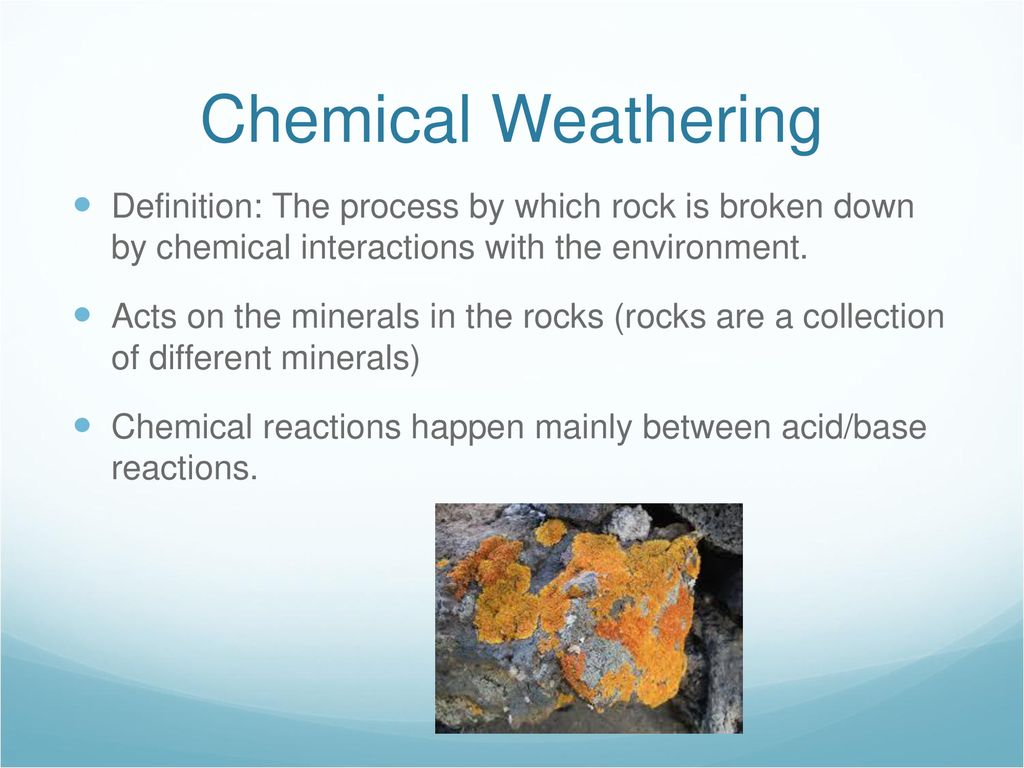 chapter 14 weathering and erosion - ppt download