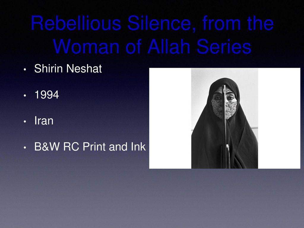 rebellious silence