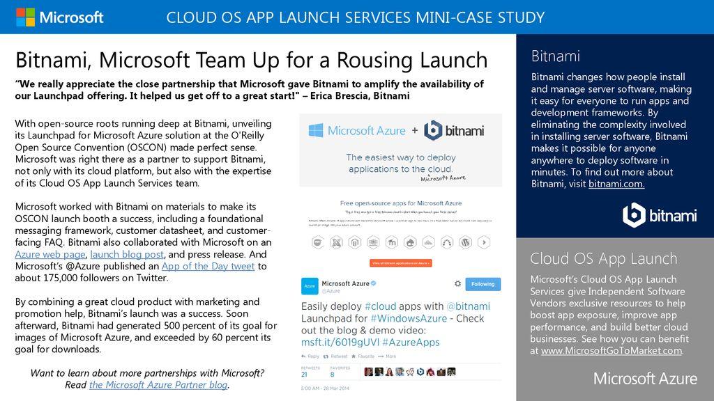 Cloud OS App Launch Services MINI-Case Study - ppt download