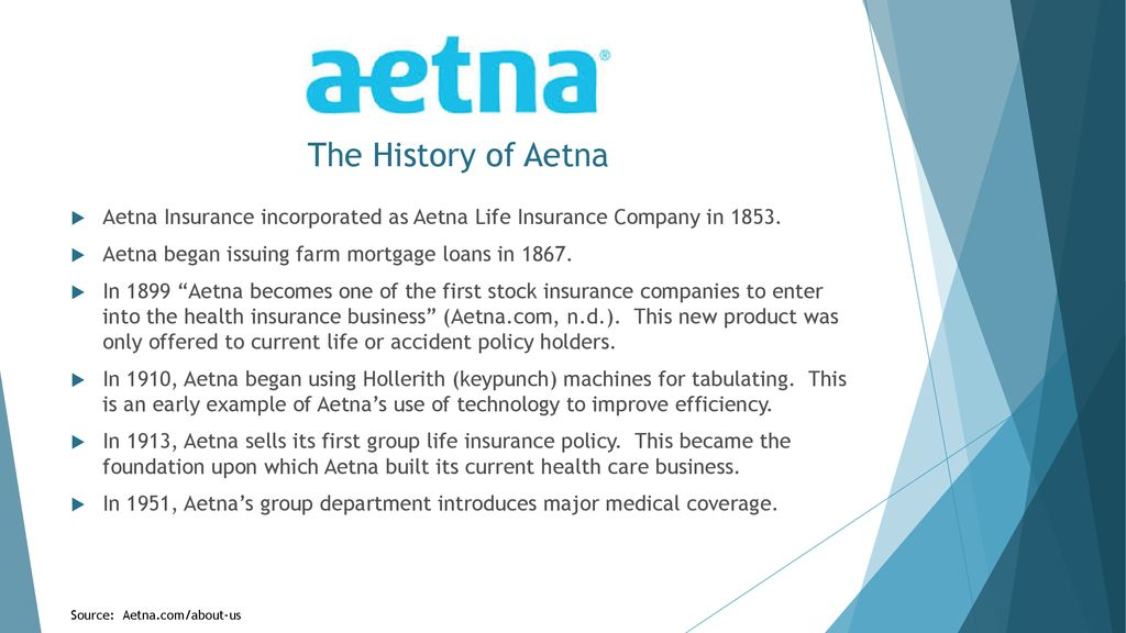 Aetna, A Healthcare Benefits Company: A SWOT Analysis - ppt