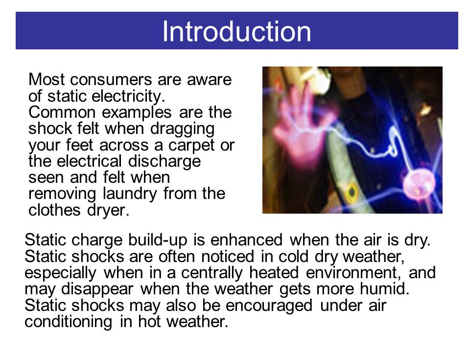 introduction to static electricity
