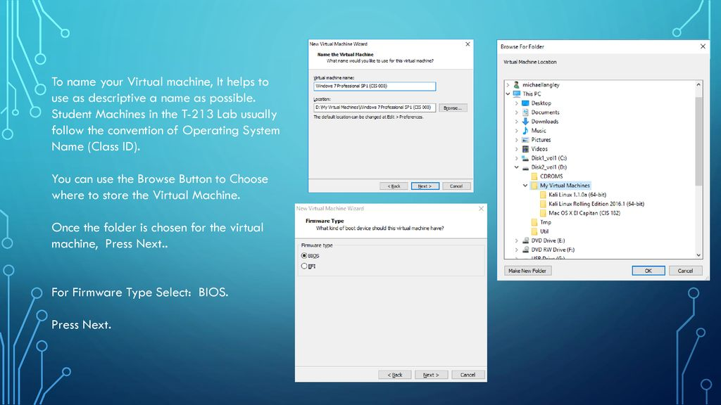 Creating a Windows 7 Professional SP1 Virtual machine - ppt download