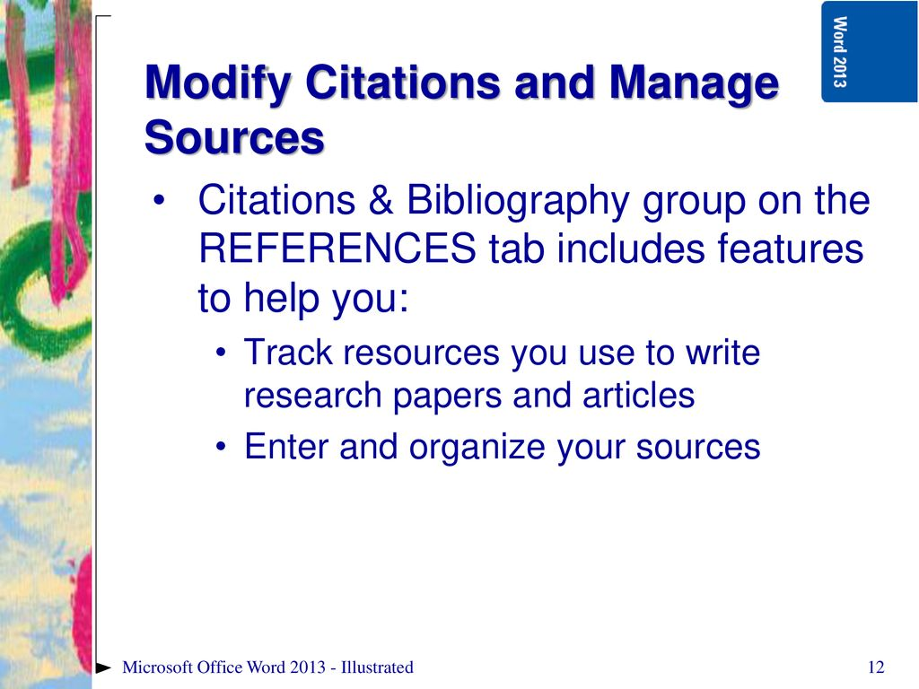Microsoft Word Illustrated - ppt download
