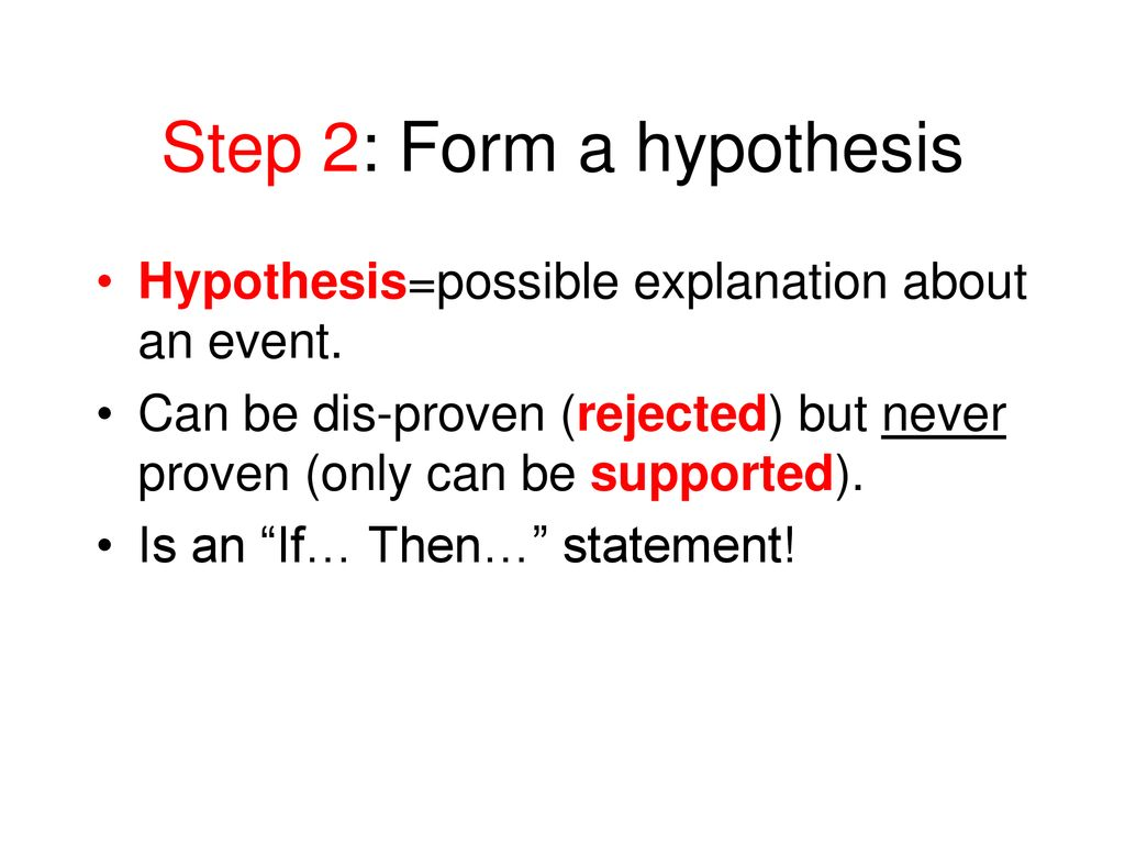 """The Scientific Method - """"Organized common sense approach to asking"""