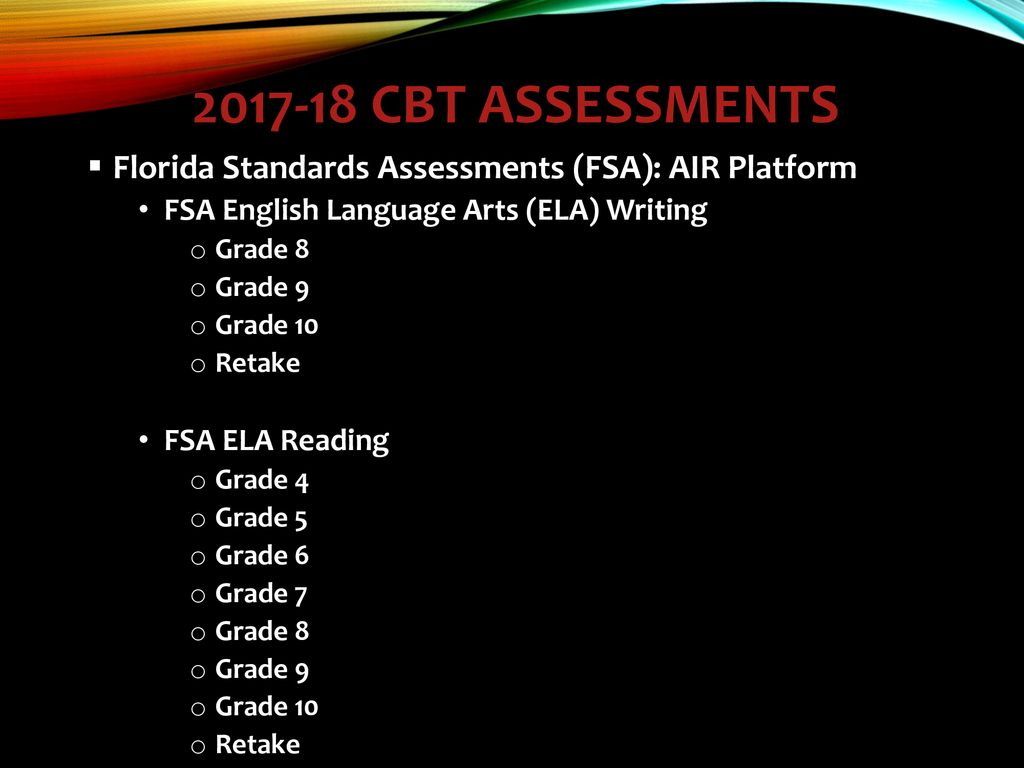 Computer Based Testing Cbt Certification Tool Ppt Download